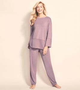 Pyjama aus Viscose von Triumph in altrosé
