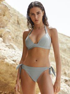 Triangel Bikini Pally Diva Mo 61 graublau von Pail de Sucre