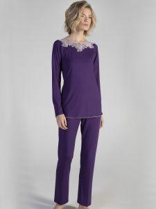 Modal Pyjama VIOLET in lila von Verdiani