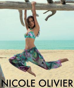 Nicole Olivier Bikini Guanaco (kombiniert mit Strandhose - diese ist nicht im Lieferumfang enthalten!)