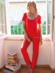 Modal Pyjama korallenrot von Chiara Fiorini