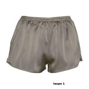 Seide Shorts MAPSALOMAS von Gattina in  taupe 1
