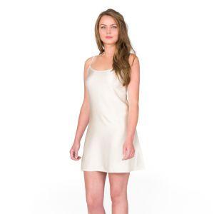 Seiden-Unterkleid Petticoat creme von Shell Belle Couture