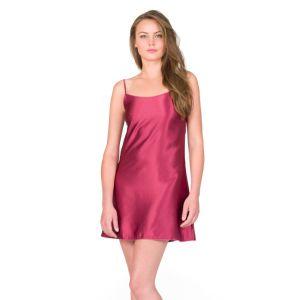 Seiden-Unterkleid Petticoat dahlia rot von Shell Belle Couture