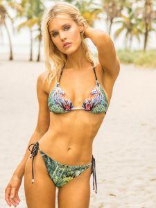 Triangel Bikini Jungle Tiger von Eniqua