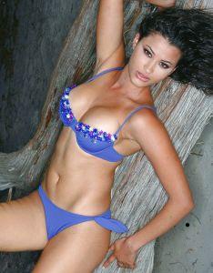 Bügel-Bikini Holly blau von Exilia Mare