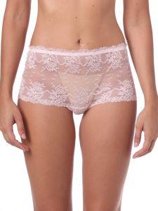 Culotte Panty Colette in rosa aus Spitze von Imec