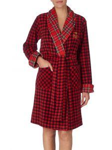 Pyjama Baumwolle Viscose Paisley blau Lauren by Ralph Lauren Sleepwear für Damen