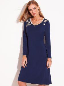 Modal Langarm Nachthemd BLU No. 3 von Chiara Fiorini