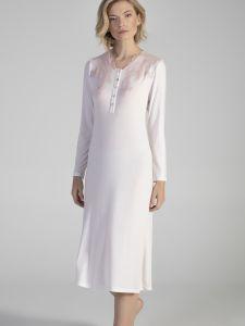Modal Langarm Nachtkleid ANGEL in rosa von Verdiani