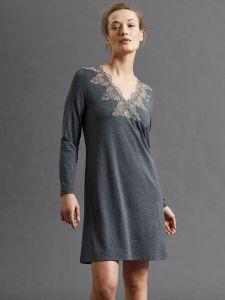 Modal Sleepshirt anthrazit grau von Fuerstenberg