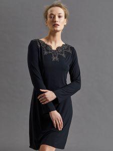 Modal Sleepshirt schwarz von Fuerstenberg