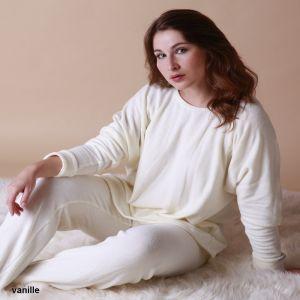 Baumwolle Pullover Casual Farbe vanille von Gattina