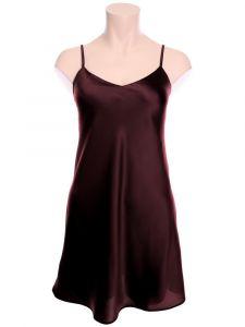 Seide Unterkleid Intensa pflaume violett von Cotton Club