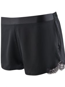 100% Seide Shorts Soie d´Amour schwarz von Aubade