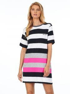 Viscose Sleepshirt Leaving our Mark Blockstreifen von DKNY Sleepwear