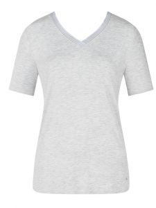 Tencel Kurzarm Shirt grey melange Climate Control von Triumph